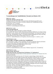 Oktober2011 VA SBC.pdf, Seiten 1-4 - Stadtbibliothek Chemnitz