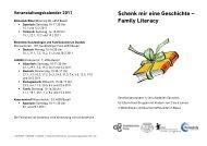 Schenk mir eine Geschichte – Family Literacy - GGG Stadtbibliothek ...