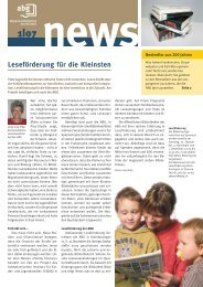 Ausgabe 01/07 - GGG Stadtbibliothek Basel