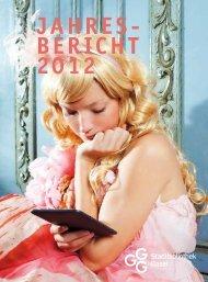 Jahresbericht - GGG Stadtbibliothek Basel