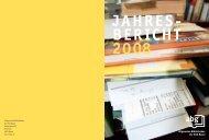 JAHRES- BERICHT 2008 - GGG Stadtbibliothek Basel