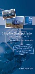20 Jahre Geißbockbahn - stadtbus Ravensburg Weingarten GmbH
