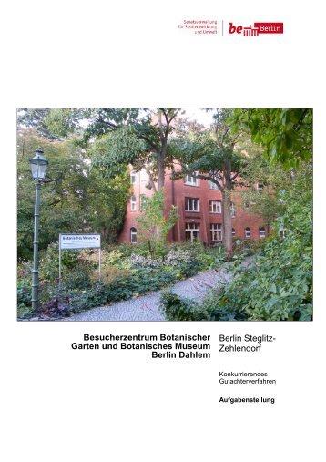 Besucherzentrum Botanischer Garten und Botanisches Museum ...