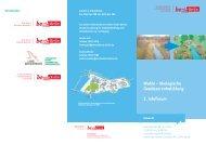 Wuhle – ökologische Gewässerentwicklung 2. Infoforum