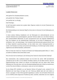 - 2 - Laudatio Förderverein Sehr geehrte Frau Senatsbaudirektorin ...