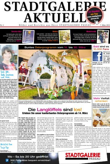 Die Langlöffels sind los! - Stadtgalerie Passau