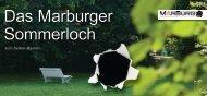 Das Marburger Sommerloch - Universitätsstadt Marburg