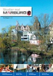 01 Titel - Universitätsstadt Marburg