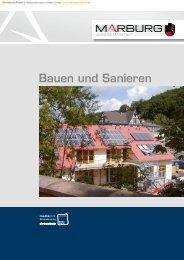 Bauen und Sanieren - Universitätsstadt Marburg