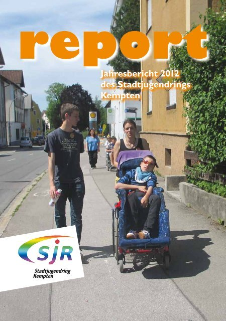 Jahresbericht 2012 - Stadtjugendring Kempten