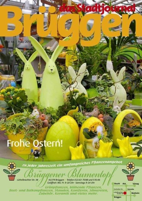 Frohe Ostern! - Stadtjournal Brüggen