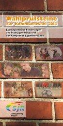 Wahlprüfsteine - Stadtjugendring Kempten