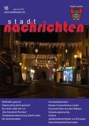 Ausgabe Januar 2014 nachlesen - Stadt Laufen
