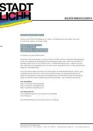 STADTLICHH #11 RELEASE-PARTY Pressemitteilung (05.05.2013)
