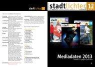 Mediadaten 2013 - stadtlichter