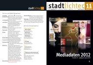 Mediadaten 2012 - stadtlichter