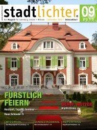 das Magazin als PDF ansehen - stadtlichter