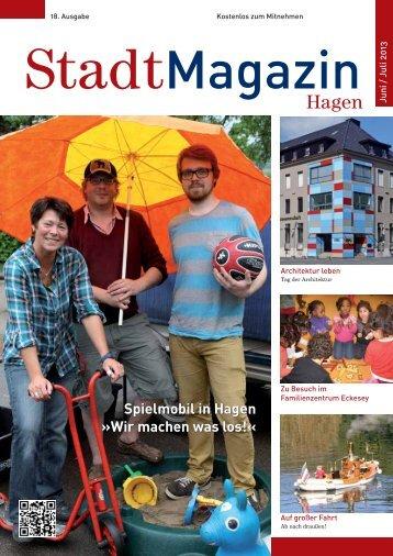 Die komplette aktuelle Ausgabe als PDF-Datei ... - Stadtmagazin