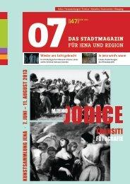 Ausgabe 47 - 07 Das Stadtmagazin . BLOG