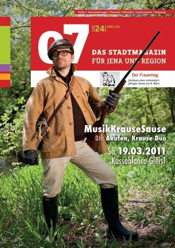 Ausgabe 24 - 07 Das Stadtmagazin . BLOG