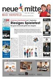 Riesiges Spielefest - Stadtmarketing Bad Hersfeld