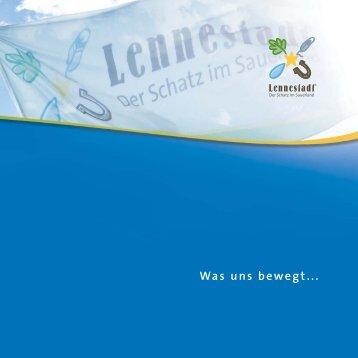 Was uns bewegt... - Stadtmarketing Lennestadt