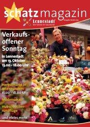 Lesen im Herbst-Schatzmagazin - Stadtmarketing Lennestadt