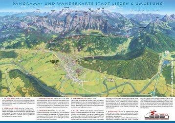 Panorama Wanderkarte - Stadtmarketing & Tourismus Liezen