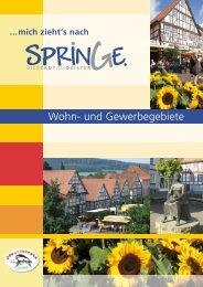 Wohn- und Gewerbegebiete - Stadtmarketing Springe