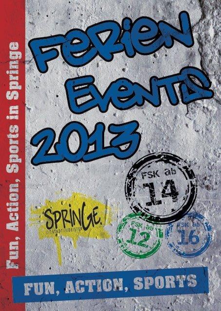 FerienEvents 2013 - Stadtmarketing Springe