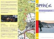 Wintersportgebiet - Stadtmarketing Springe