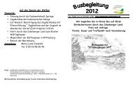 Busbegleitung 2012 - Stadtmarketing Springe