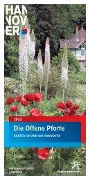 Die Offene Pforte 2012 - Stadtmarketing Springe