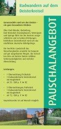 Pauschalangebot - Stadtmarketing Springe