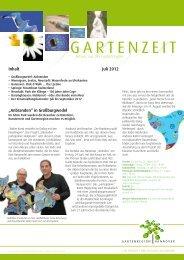 Newsletter Gartenregion - Stadtmarketing Springe