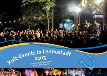 Kult-Events in Lennestadt 2013 - Stadtmarketing Lennestadt