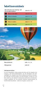 Camping - Tourismus Region Hannover eV - Page 4