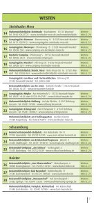 Camping - Tourismus Region Hannover eV - Page 7