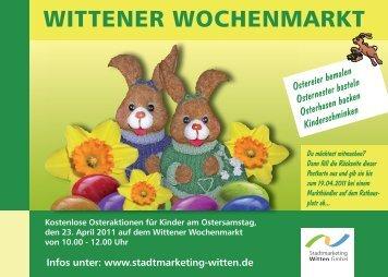 Druck postkarte wochenmarkt ostern indd.indd - Stadtmarketing Witten