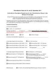 Verbindliche Standplatz-Bestellung für den Orientalischen Bazar in ...