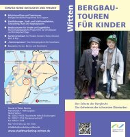 Bergbautouren für Kinder - Stadtmarketing Witten