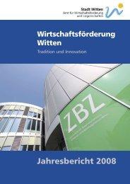 Jahresbericht 2008 - Witten