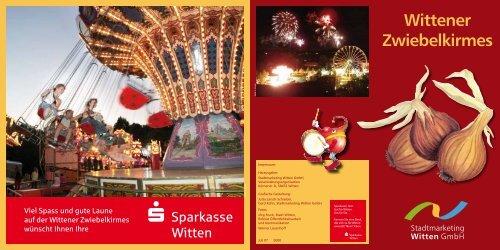 Wittener Zwiebelkirmes - Stadtmarketing Witten