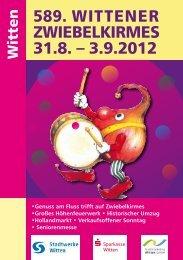 Veranstaltungen der Stadtmarketing Witten GmbH