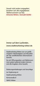 """Freizeitverzeichnis """"Und Action"""" - Stadtmarketing Witten - Seite 2"""