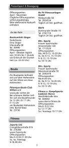 """Freizeitverzeichnis """"Und Action"""" - Stadtmarketing Witten - Seite 5"""
