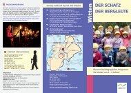 Schatz der Bergleute Folder.indd - Stadtmarketing Witten