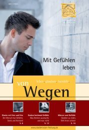 Mit Gefühlen leben - Evangelische Stadtmission Freiburg