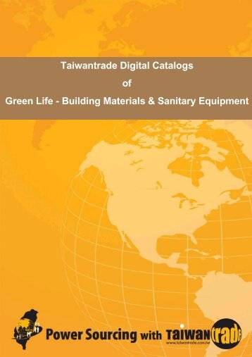 Taiwantrade Digital Catalogs of Green Life - Building Materials ...