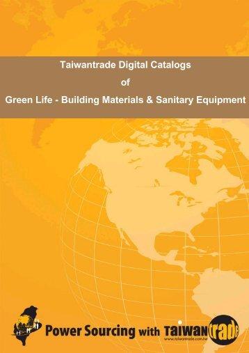 Taiwantrade Digital Catalogs of Green Life - Building Materials ...